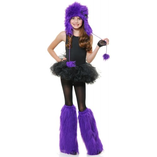 [Purple Monster with Bow Set Costume] (Purple Monster Costumes)