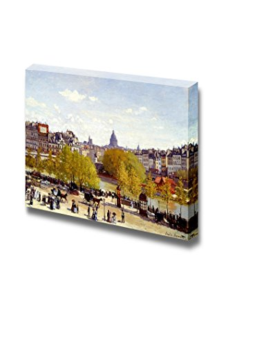 Quai du Louvre 1867 by Claude Monet Print Famous Oil Painting Reproduction