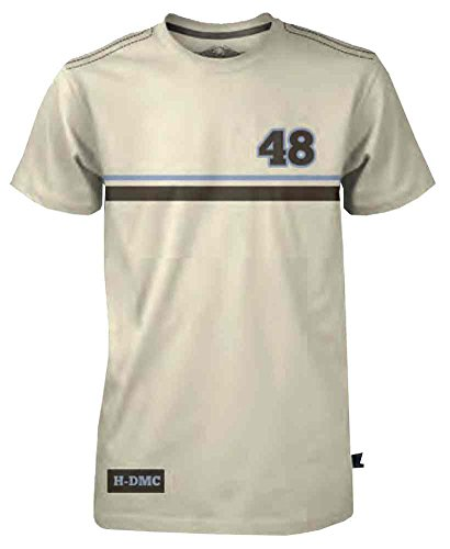 - Harley-Davidson Mens Black Label Racing Stripe T-Shirt Tan 30291531 (2XL)