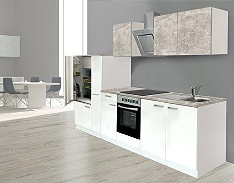 RESPEKTA incasso cucina angolo cucina BLOCCO CUCINA 300 corpo bianco ...