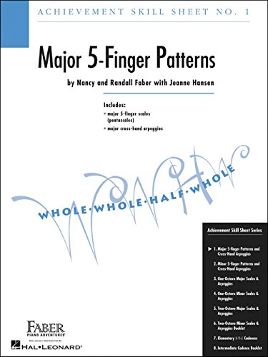 Faber Piano Adventures Achievement Skill Sheet No.1: Major 5-Finger Patterns - Faber Piano ()