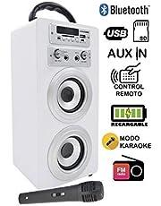 Dynasonic 025 Altavoz con Bluetooth para Karaoke