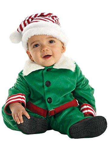 Underwraps Carnival Corp. - Baby Elf Infant / Toddler Costum