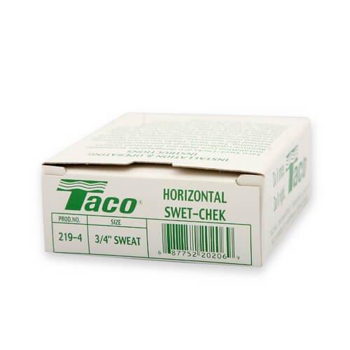3/4'' CxC Horizontal (Bronze) Taco Flo-Chek