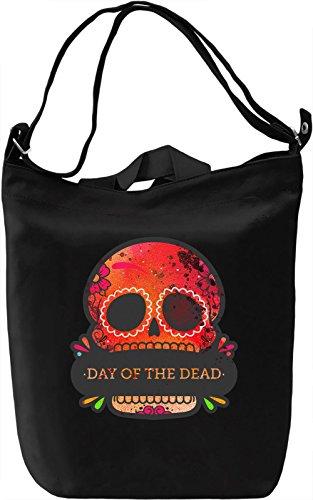 Day Of The Dead Borsa Giornaliera Canvas Canvas Day Bag  100% Premium Cotton Canvas  DTG Printing 