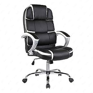 Amazon.com: Mecor High Back Executive Office Chair PU