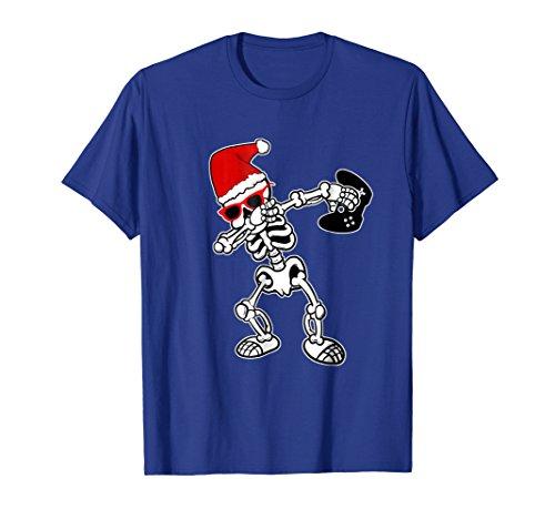 Funny Video Game T-Shirt Santa Dabbing Skeleton Christmas (Christmas Ornaments Xbox)