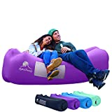 AlphaBeing Inflatable Lounger - Best Air Lounger for Travelling, Camping, Hiking - Ideal