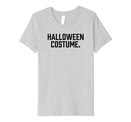 Comfy two-sided funny, sarcastic Halloween costume t-shirt