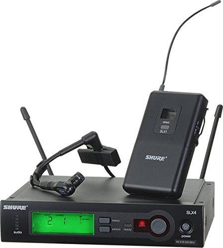 - Shure SLX14/Beta98H Instrument Wireless System, G5