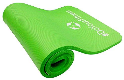 Fitnessmatte »Yamuna« / EXTRA-dick und weich, ideal für Pilates, Gymnastik und Yoga, Maße: 183 x 61 x 1,5cm, grün