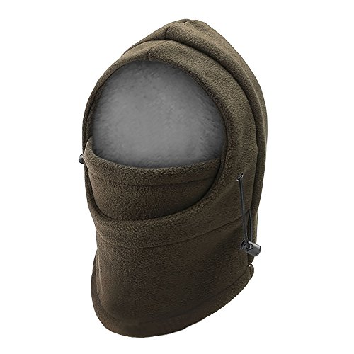 5fee173a2db Opromo Kids Winter Windproof Hat Child Balaclava Ski Mask with Fleece Face  Cover