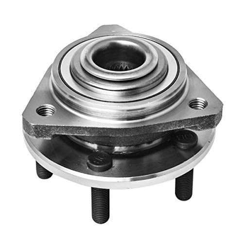Front Wheel Hub and Bearing Assembly Left or Right Compatible Chrysler Cirrus Sebring Sedan Convertible Dodge Stratus Plymouth Breeze AUQDD 513138 [ 5 Lug ()