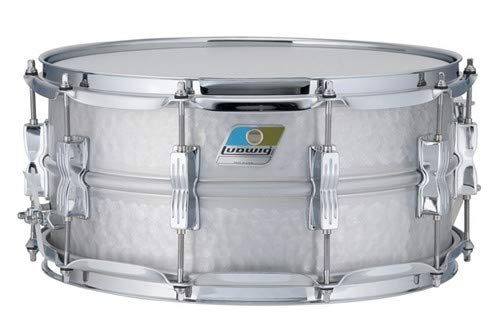 Ludwig LM405K 6.5X14 HAMMERED ALUMINUM ACROLITE SD 14 x 6.5 in. by Ludwig