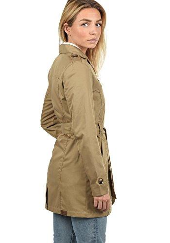Tessa Con Collo Desires Cintura Sand Transitorio nbsp; Giacca 4073 Revers Da Coat Donna Trench AqRZxBq