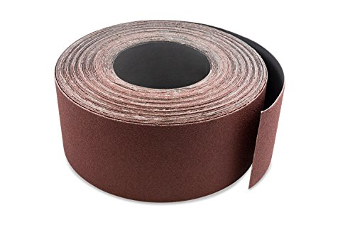 3 Inch X 70 FT 150 Grit Woodworking Drum Sander Strip Roll, Cut to -