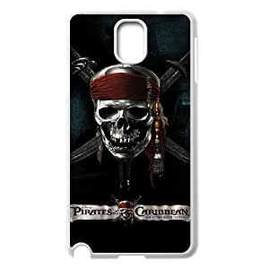 LABEXB Pirates of the Caribbean Phone Case For Samsung Galaxy note 3 N9000 [Pattern-4]