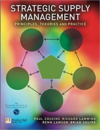theories and practice Strategic Supply Management Principles