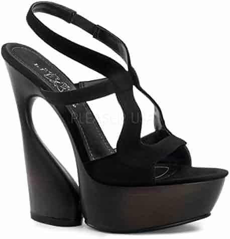 1464a67d5c92b Shopping 1 Star & Up - Pleaser Shoes - Platforms & Wedges - Sandals ...