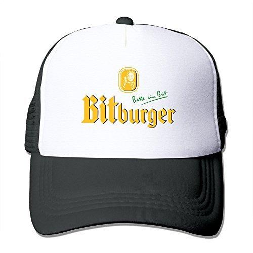 Cool Bitburger Beer Logo Trucker Mesh Baseball Cap Hat One Size Black