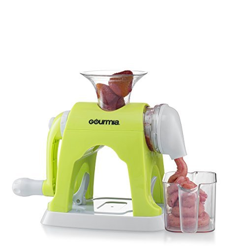 Gourmia GIC9610 Ice Cream Maker Whips Up Frozen Fruit Desserts With Easy Hand Crank & Bowl Free E-Recipe book included Durable BPA free food safe material GREAT FOR KIDS [並行輸入品]   B079VG95TC