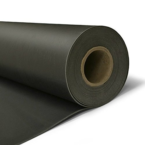 Mass Loaded Vinyl 1lb - 4'x25' Soundproofing Barrier for Walls, Floors or Ceilings by Acoustimac