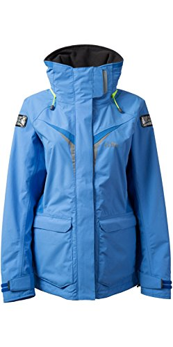 GILL OS3 Women's Coastal Jacket (Ladies 14, Light Blue)