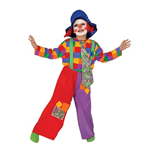 [Colorful Boy's Clown Costume] (Circus Style Dance Costumes)
