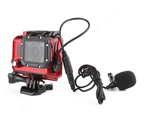 AceList GoPro HERO3 Standard Housing Replacement + Mini USB External Microphone - Shopping Usa Sites