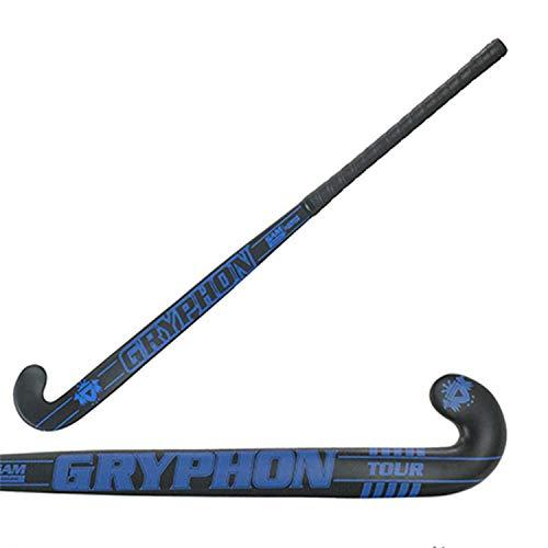 (GRYPHON Tour Samurai Composite Field Hockey Stick Free Grip & Carrying Bag (37.5