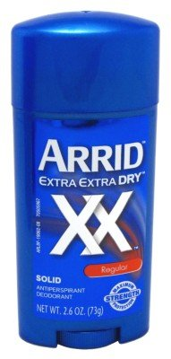 Arrid XX Wide Regular Solid Antiperspirant & Deodorant Stick 2.7 oz (Pack of 6) (Wide Anti Solid Perspirant)