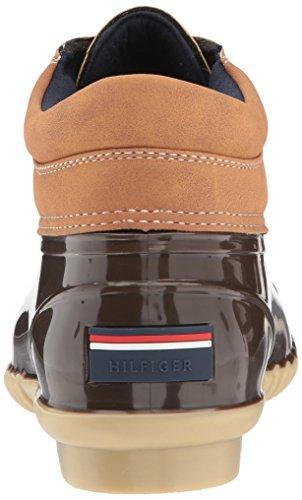 Tommy Hilfiger Womens Heat Rain Boot Espresso