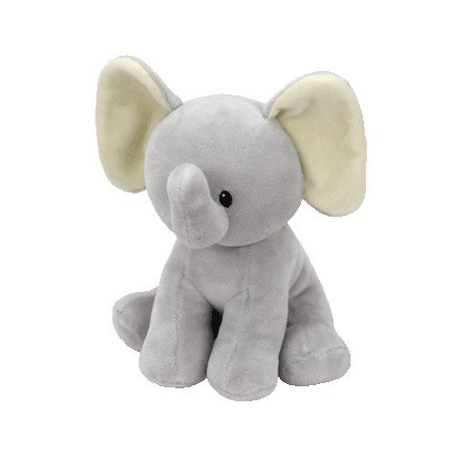 Baby Ty Collection - Bubbles - Gray Elephant, (Elephant Beanie Babies)