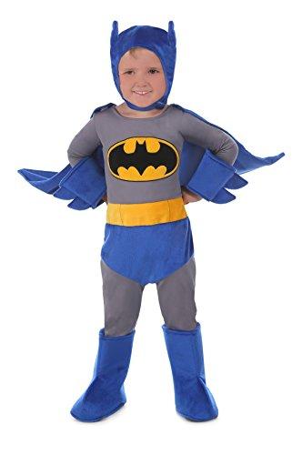 [Princess Paradise Baby Batman Cuddly Costume, Blue, 18 Months 24 Months] (18 Month Superhero Costumes)