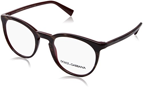 Eyeglasses Dolce & Gabbana DG 3269 3093 STRIPED RED ON - Prices Gabbana Dolce And Eyewear