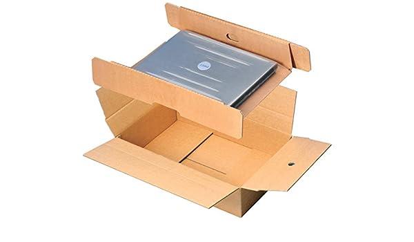 Caja de envío, para ordenador portátil de Embalaje, cartón ...