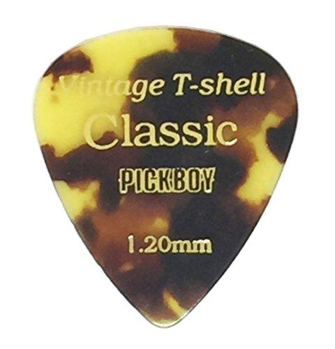 (Pickboy Vintage Pick, Tortoise-Shell, Cellulose, 1.20mm, 10)