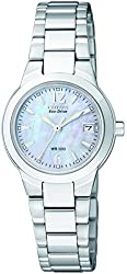 "Citizen Women's EW1670-59D ""Silhouette"" Stainless Steel Eco-Drive Watch"