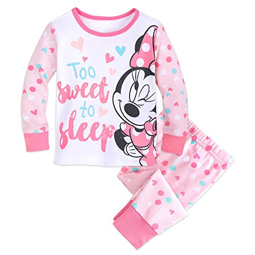 Disney Minnie Mouse PJ PALS for Baby Size 12-18 MO Multi