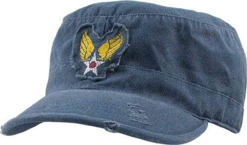 Vintage Blue With Winged Star Military P - Star Fatigue Cap Shopping Results