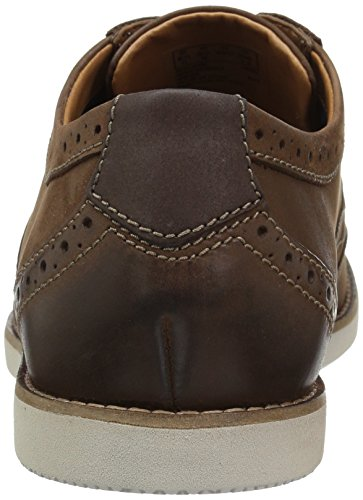 Clarks Mens Raharto Ala Oxford Marrone Nubuck