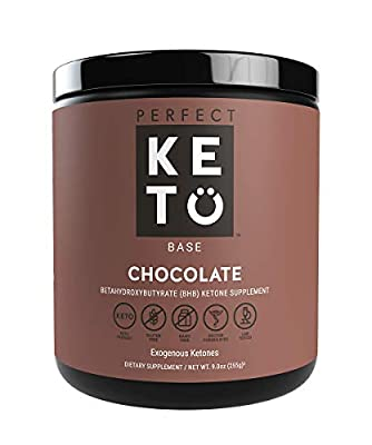 Perfect Keto Exogenous Ketones: Base BHB Salts Supplement. Ketones for Ketogenic Diet Best to Burn Fat to Support Energy, Focus and Ketosis Beta-Hydroxybutyrate BHB Salt