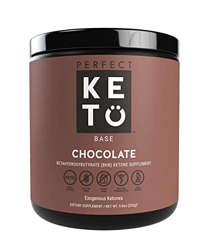 Perfect Keto Exogenous Ketones: Base BHB Salts Supplement. Ketones for Ketogenic Diet Best to Support Weight Management & Energy, Focus and Ketosis Beta-Hydroxybutyrate BHB Salt ()