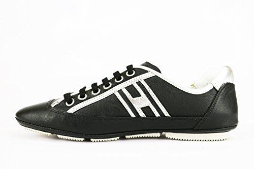 Hogan - Zapatillas de Piel para mujer negro negro