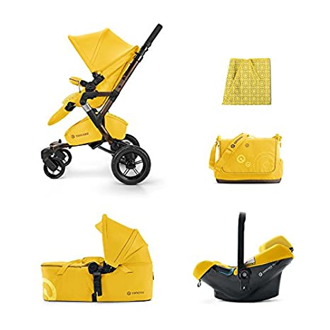 Concord Neo Mobility Set Limited Edit - Coche paseo, color blazing yellow: Amazon.es: Bebé