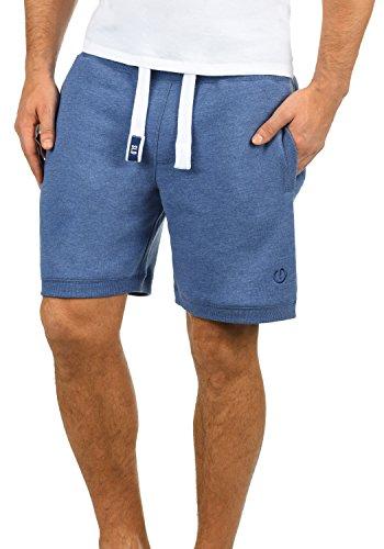 Corto Hombre Con Chándal Bermudas Faded Pantalón 1542m Melange Polar Tacto Al Blue Forro Sweat Para Bennshorts Suave solid 0n8xqAEwC