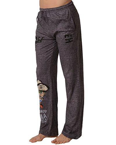 Ed Hardy Men's Pirate Chaptain Lounge Pants - Black Rock Desert - Small ()