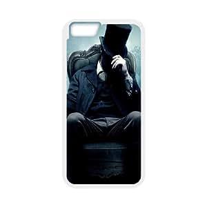 iPhone 6 4.7 Inch Cell Phone Case White Abraham Lincoln in Mist Bzedw