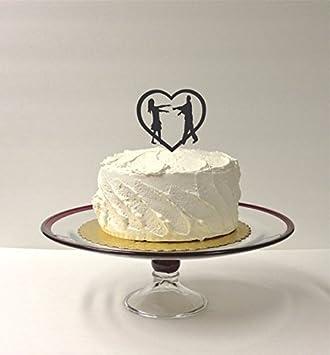 Amazon Com Zombies Wedding Cake Topper Zombie Cake Topper Zombie