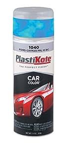 PlastiKote 1040 Ford Cayman Pearl Metallic Base Coat Automotive Touch-Up Paint - 11 oz.
